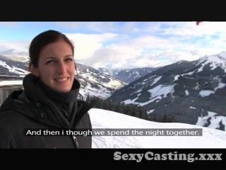 Fakeagent sex up the mountains, nude sexy brunettes having sex