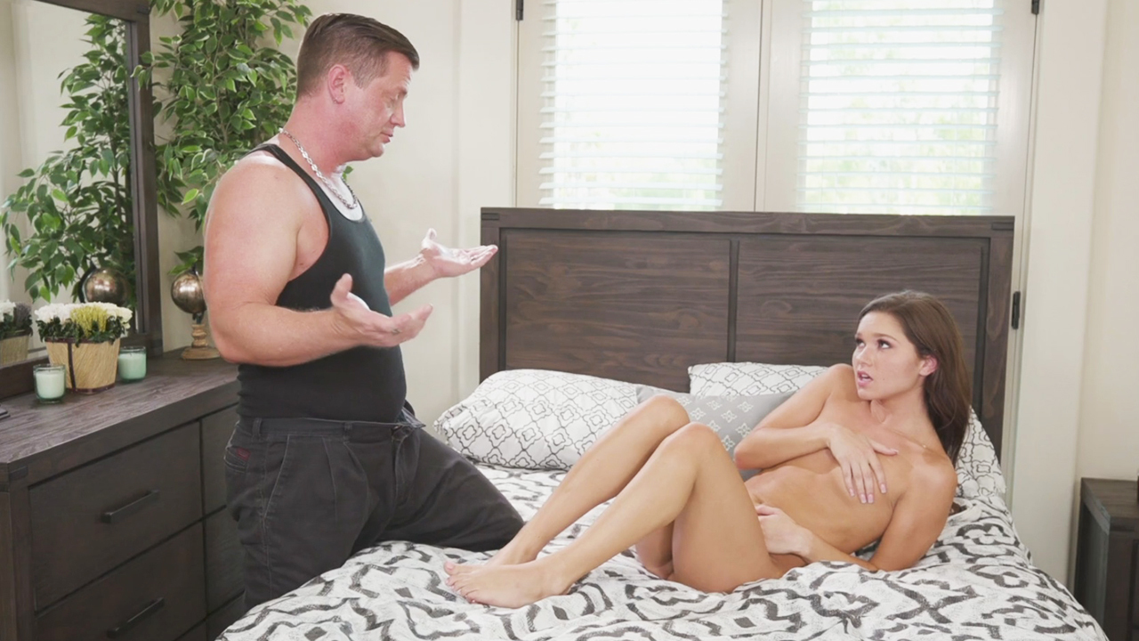 Homeowner Finds The Babysitter Naked On The Bed Hd Porn E