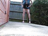 Sexy legs smoking