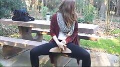 BARBRA: Masturbation public teen