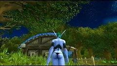 Warcraft : My little elf, Keyla.