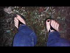 my sexy wet feet