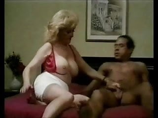 Mature Sexy Fucked In Bed, With Red High Heels
