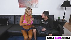 Tasty MILF Tegan James Loves It