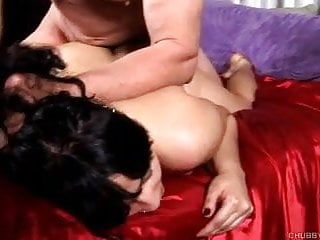 Super sexy busty brunette BBW is a very hot fuck