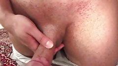 Big booty ebony lesbians strap on fucking
