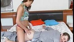 Brunette Russian Strapon Lady 1