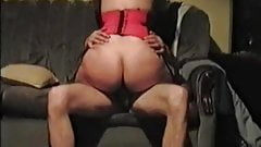 Check my MILF Lingerie wife riding husbands cock