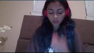 Skype girl dripping and cums