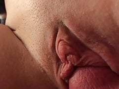 Short vid fucking wifes sweet shaved pussy