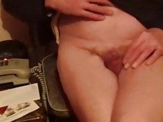 Female masturbation thigh squeeze