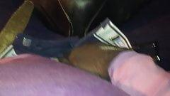 Rubbing myself in the saddle