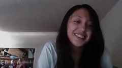 Webcam Girl Raven Haired