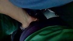 tocando culos en el tren Sarmiento groping 1