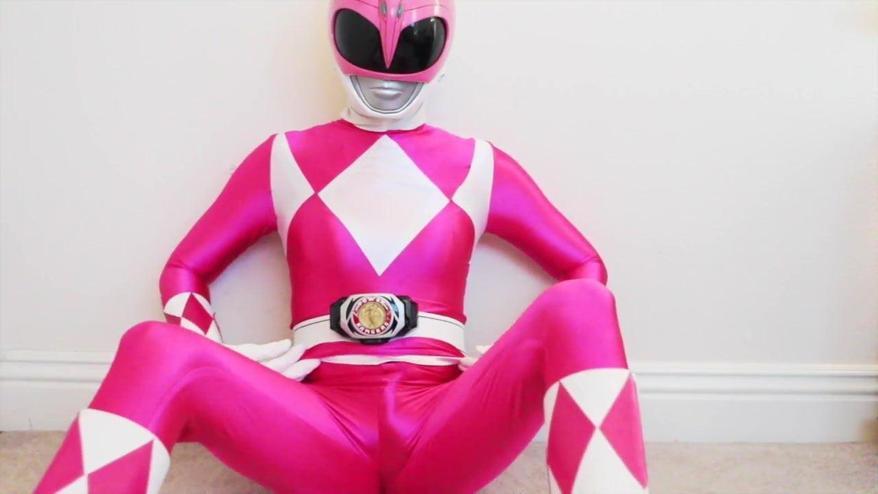 pink power ranger porn