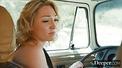 Deeper. Lily Labeau Shows Him Technology Free Fun