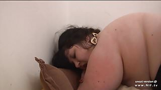 Young french amateur fat bbw ass pounded and creamed