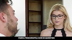 FamilyHookUps - Slutty Stepsis Gets Ass Filled by Stepbro's Thumb