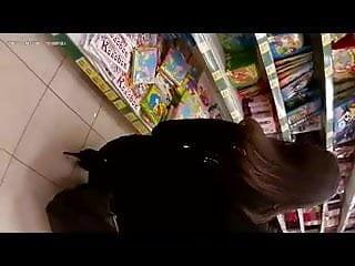 Flash Cum In Supermarket