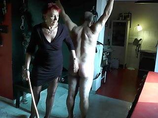 Lady Britt undder Sklavenarsch