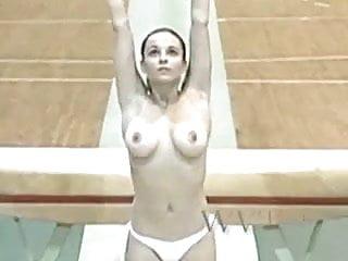Corina Busty Gymnast Naked