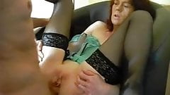 Real amateur throat fuck and swallow homemade