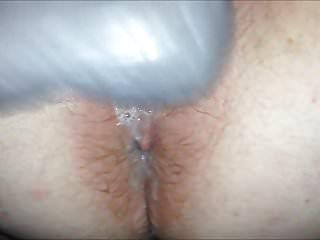 Her meaty creamy gushing on BBC dildo POV comp