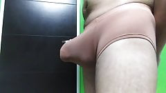 My Bulge in Boxer Brown color