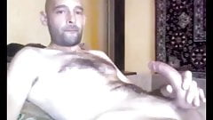Hot Ukrainian Wank his Big Cock