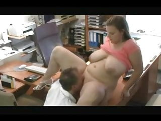 Fucking Fat Chubby Ex Girlfriend in the Office