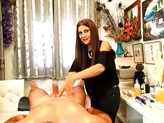 CFNM sexual massage part 2