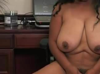 Nude busty mature female