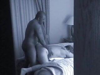 Hidden Camera On White Wife & Bull
