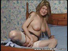 Check My MILF Only 100% real amateur wives and GFs kinky vid