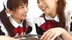 Chihiro Hasegawa & Mayura Hoshitzuki swapping cum