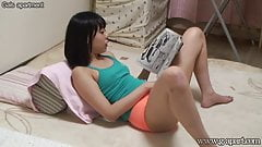 Hiddencam Japanese Yua Nanami Masturbates Reading a Book