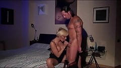Beautiful blonde MILF fucked and facial.mp4