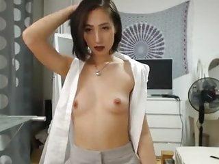 Asian Princess Plays On Cam