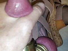 Cock hose wedges and cum