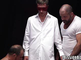 Young virgin ass raw fucked at Mormon initiation ritual