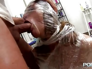 Shaving And Fisting Busty Milf