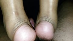 Footjob part 3 cumshot