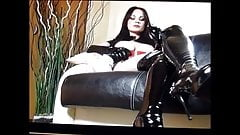 stooge admires the divine Mistress