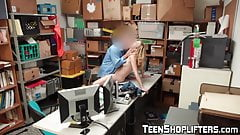 Naughty shoplifter Zoe Parker banged and facialized