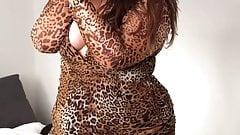 Plus Size Michelle Tease