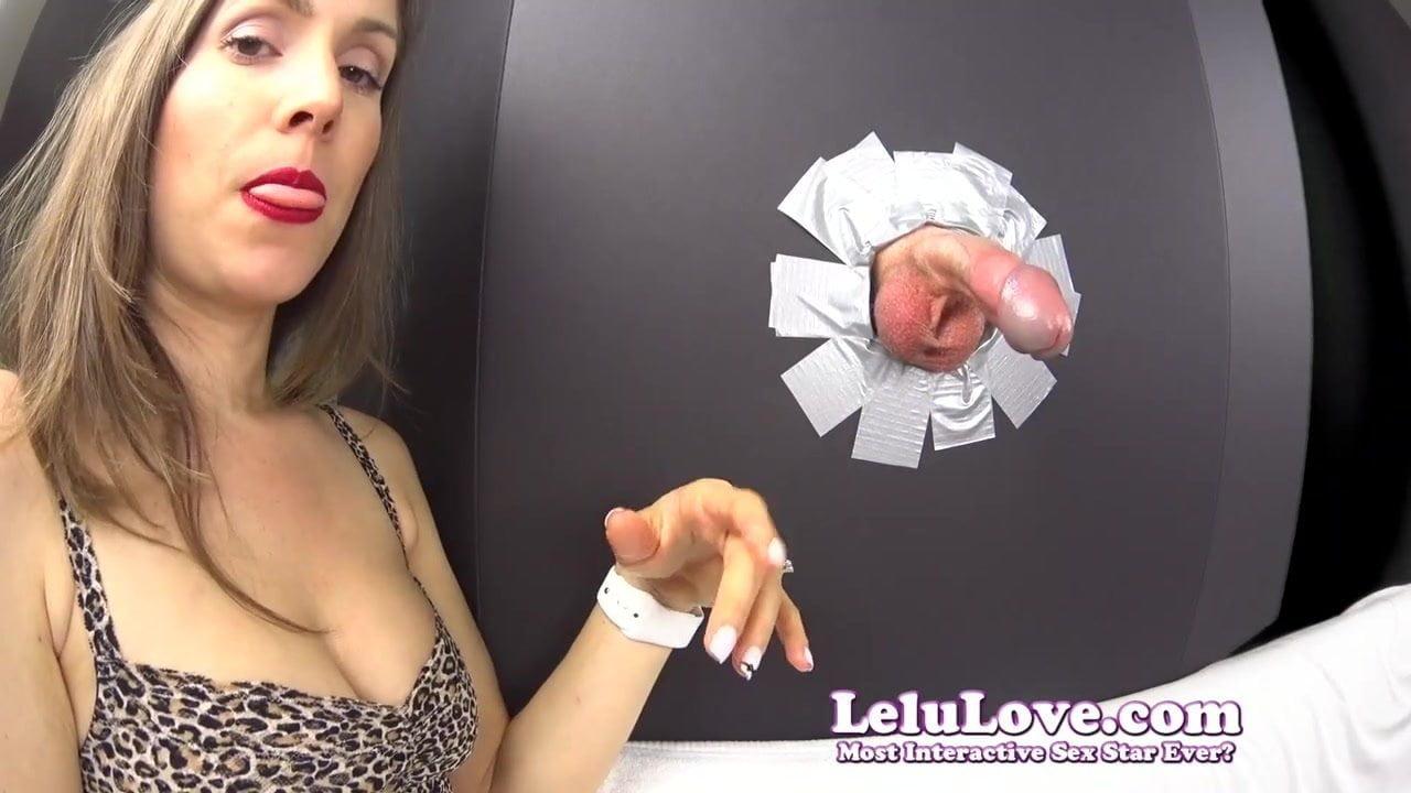 Lelu love closeup pov blowjob swallow mobile porn