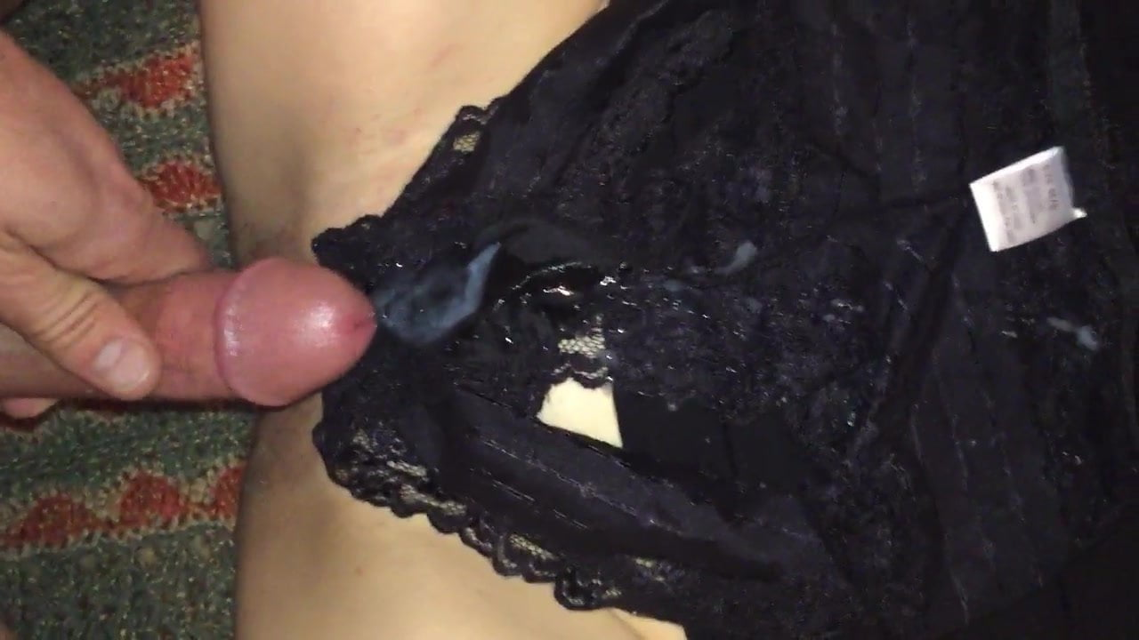 Cum over her panties closeup videos #2