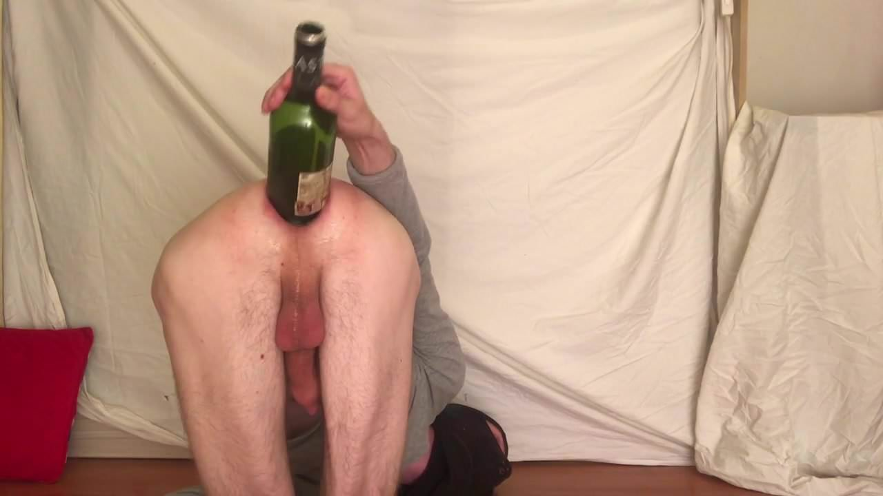 gay completely swallows cock to nut