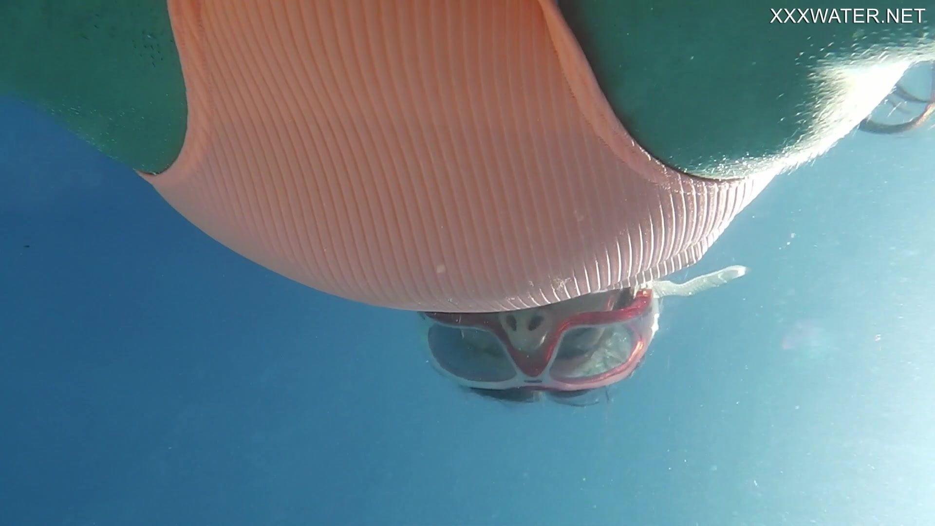 Underwater Gymnastics with Micha