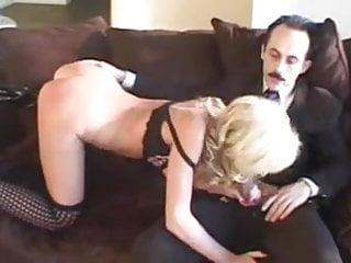 Naughty Blonde Teen Gets Sodomised By Old Man